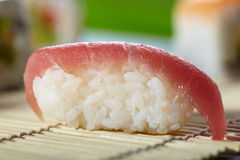 亚洲maki寿司 免版税库存图片