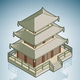 亚洲stupa 免版税图库摄影