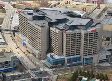亚特兰大中心cnn佐治亚 免版税库存照片