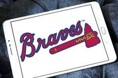 亚特兰大勇士棒球队商标 图库摄影