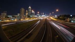 亚特兰大都市风景时间间隔 股票录像