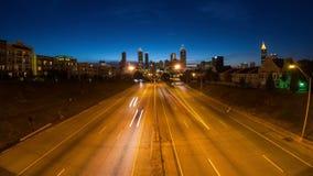 亚特兰大都市风景时间间隔 影视素材