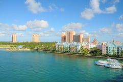 亚特兰提斯天堂海岛,巴哈马 免版税库存照片