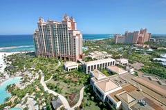 亚特兰提斯天堂海岛巴哈马 免版税图库摄影