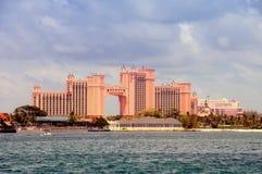 亚特兰提斯巴哈马海岛天堂手段 库存照片