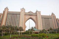 亚特兰提斯旅馆,棕榈群岛 免版税库存图片