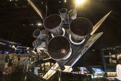 亚特兰提斯梭在肯尼迪航天中心中 免版税库存图片