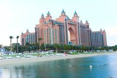 亚特兰提斯棕榈旅馆 迪拜 免版税图库摄影