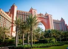 亚特兰提斯迪拜旅馆 免版税库存图片