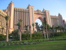 亚特兰提斯迪拜旅馆jumeirah掌上型计算机&# 图库摄影