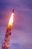 亚特兰提斯STS135发射 免版税库存照片