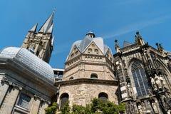 亚琛大教堂 免版税库存照片