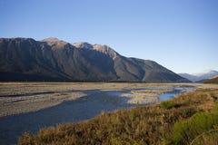 亚瑟国家新的公园通过s西兰 库存图片
