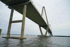 亚瑟桥梁查尔斯顿ravenel 库存照片