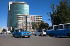 亚的斯亚贝巴埃塞俄比亚街道  库存图片