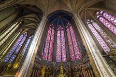 亚眠, picardie,法国大教堂  免版税库存照片