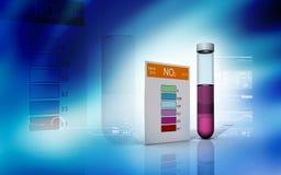 亚硝酸盐测试 免版税库存照片