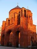 亚美尼亚东正教在莫斯科 库存图片