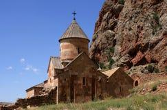 亚美尼亚修道院noravank 免版税库存照片