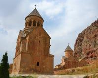 亚美尼亚修道院noravank 免版税库存图片