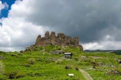 亚美尼亚堡垒Amberd 免版税库存照片