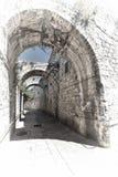 亚美尼亚处所耶路撒冷 免版税库存照片