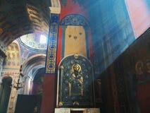 亚美尼亚大教堂在利沃夫州,乌克兰 库存照片