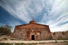 亚美尼亚大教堂在范City,土耳其 免版税库存照片