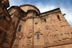 亚美尼亚大教堂在范City,土耳其 库存照片