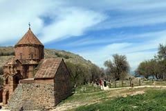 亚美尼亚大教堂在范City,土耳其 图库摄影