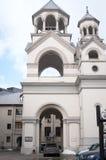 亚美尼亚教会pyatigorsk 库存图片