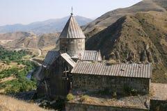 亚美尼亚教会vorotnavank 库存照片