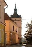 亚美尼亚教堂钟塔 库存图片