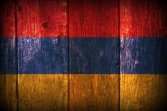 亚美尼亚旗子 库存照片
