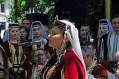 亚美尼亚歌唱家 库存照片