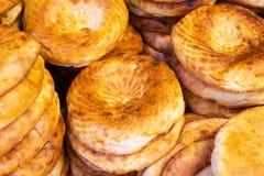 亚美尼亚皮塔饼面包新鲜面包 免版税库存照片