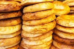 亚美尼亚皮塔饼面包 库存照片