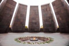 亚美尼亚种族灭绝纪念品 库存照片
