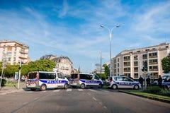 亚美尼亚种族灭绝100th记忆行军在法国 免版税图库摄影