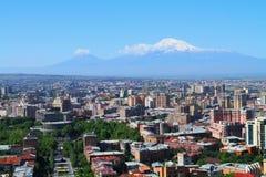亚美尼亚耶烈万 库存照片