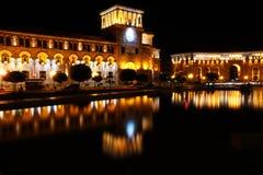 亚美尼亚耶烈万 免版税库存照片