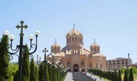 亚美尼亚耶烈万 图库摄影
