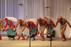 亚美尼亚舞蹈 库存照片