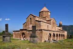 亚美尼亚,在Alawerdi附近发现Odzun教会 库存照片