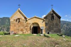 亚美尼亚,在Alawerdi附近的Horomayri教会 图库摄影