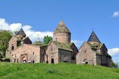 亚美尼亚goshavank修道院 免版税图库摄影