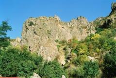 亚美尼亚mountanes 免版税库存照片