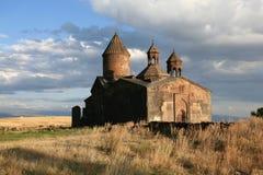 亚美尼亚sagmosavank 图库摄影