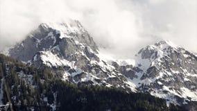 亚蓝闪石的阿尔卑斯 股票视频