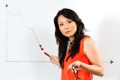 亚裔中国业务经理 库存照片